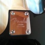 Нэкплейт Neckplate Fender Corona California, Волгоград