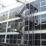 Производство металлической лестницы с ограждением., Волгоград