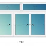 Лоджии ПВХ Двустворчатые профиль 70мм стеклопакет 24мм, Волгоград