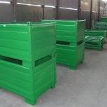 Металлические контейнеры, поддоны для склада и производства, тележки, Волгоград