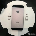 Корпус iPhone 5S черный space gray, Волгоград