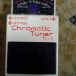 Boss Chromatic Tuner TU-2. Бесплатная Доставка, Волгоград