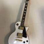 Копия Gibson Les Paul Custom Alpine White, Волгоград