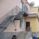 Лестница эвакуационного выхода для гимназии, Волгоград