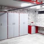Мебель для гаража в комплекте (верстак, шкафы), Волгоград