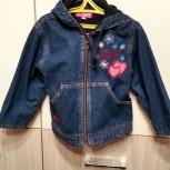 Продается джинсовая куртка для девочки, Волгоград