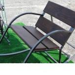 Кресло-качалка металлическая для сада, террасы., Волгоград