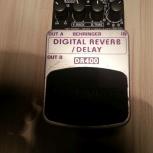 Behringer Reverb/Delay DR400. Бесплатная доставка, Волгоград