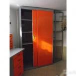 Шкаф-купе металлический для гаража, Волгоград